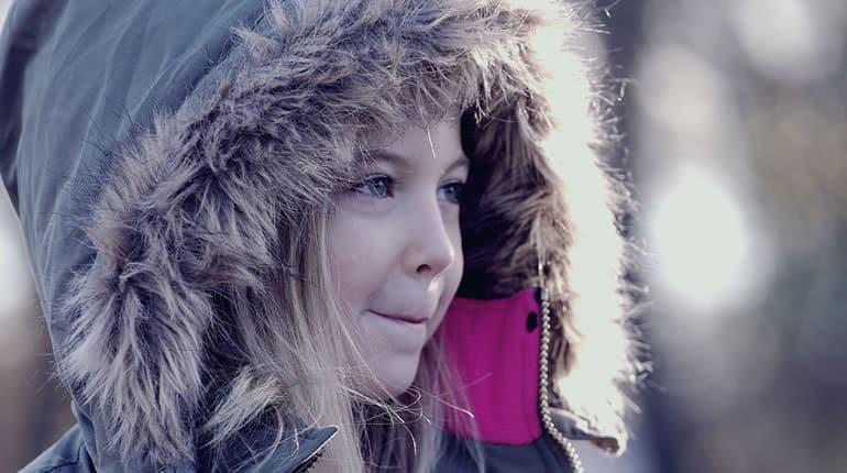 Detské zimní oblečení