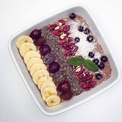Cereálie zdravá snídaně